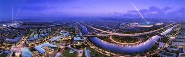 虹桥商务区综合交通规划:拟建3条轨交