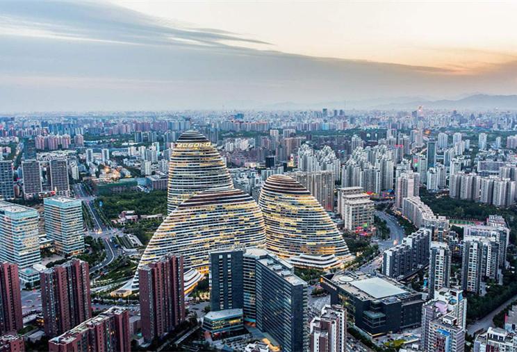 北京联合办公,朝阳发展迅速最为密集