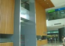 渣打银行大厦楼内内景