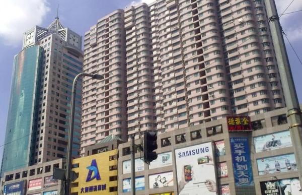 闸北上海恒基不夜城广场写字楼出租-不夜城商业中心
