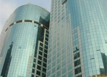 福德商务中心外立面图