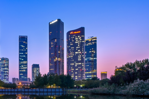 腾讯北京总部办公楼设计:办公+娱乐+健康