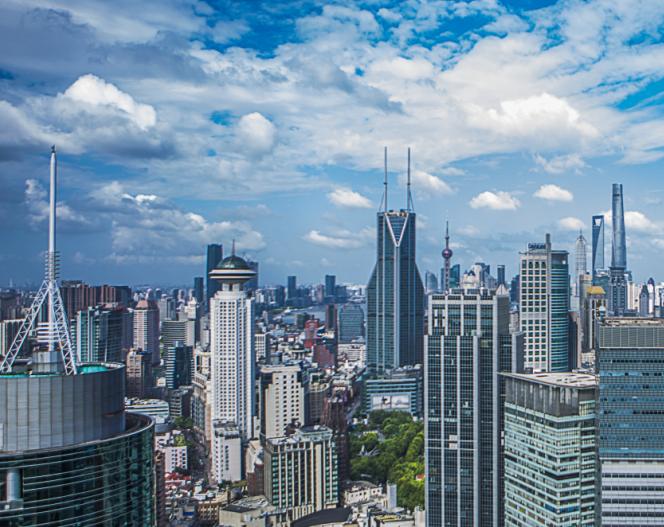 广州、上海等重点城市写字楼出租率已回暖