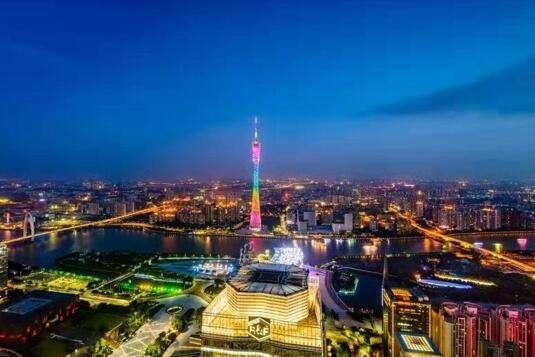 广州国际金融城将崛起大量商业办公楼