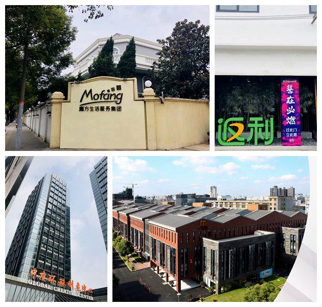 上海独角兽企业办公选址分布调研