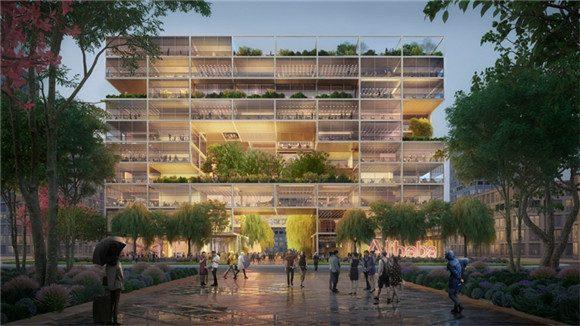 阿里巴巴上海总部办公室设计曝光