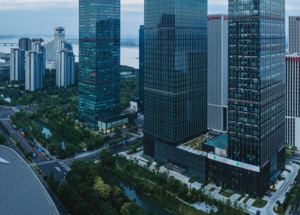 长沙IFS办公楼,逆势突围,出租率上扬
