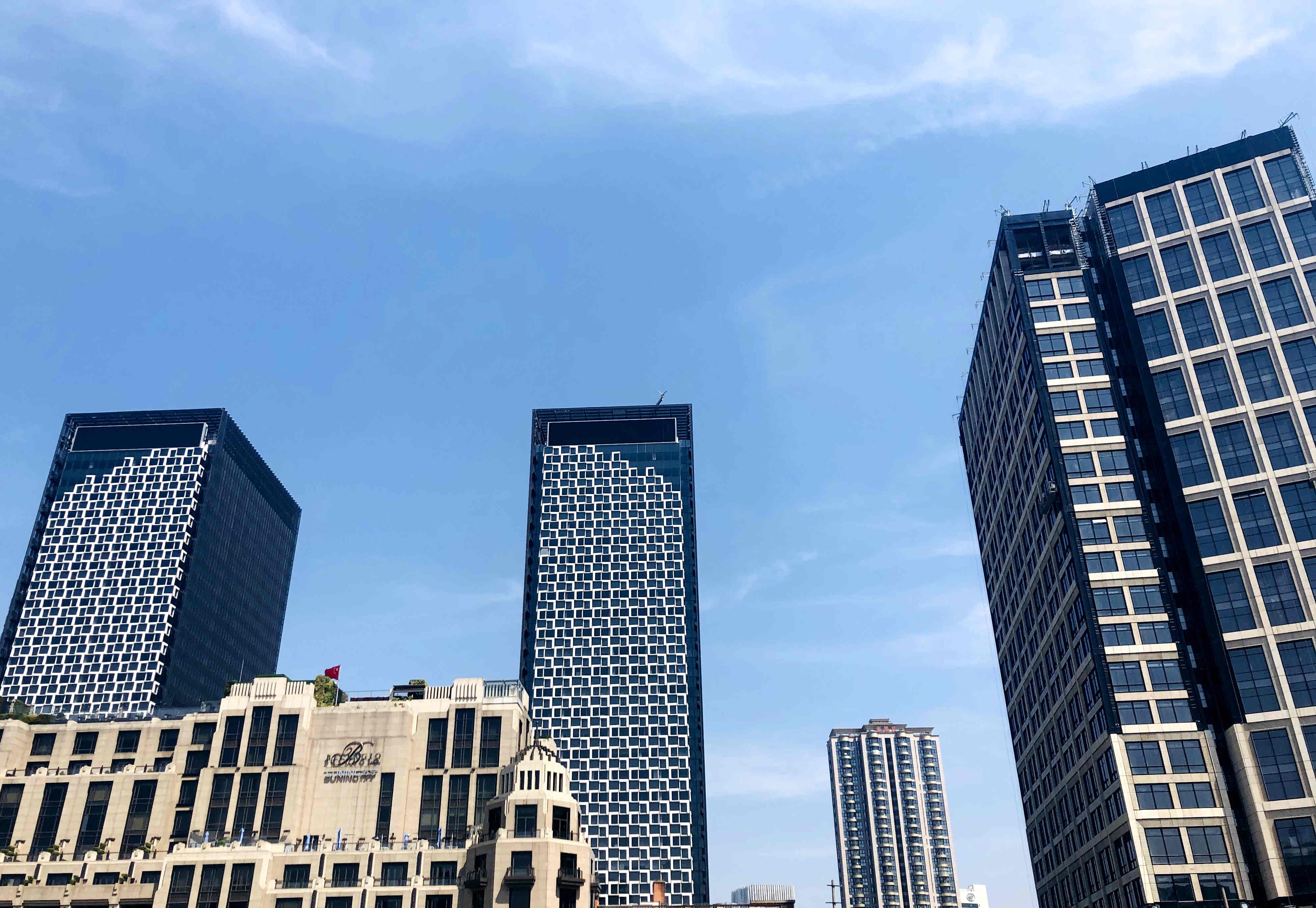 7月份上海各区办公物业租赁市场热力指数TOP10