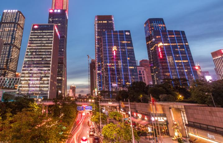 深圳甲级写字楼空置率环比下降,租金跌幅收窄
