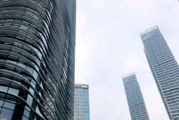 2021年4月份上海各区办公物业租赁市场热力指数TOP10
