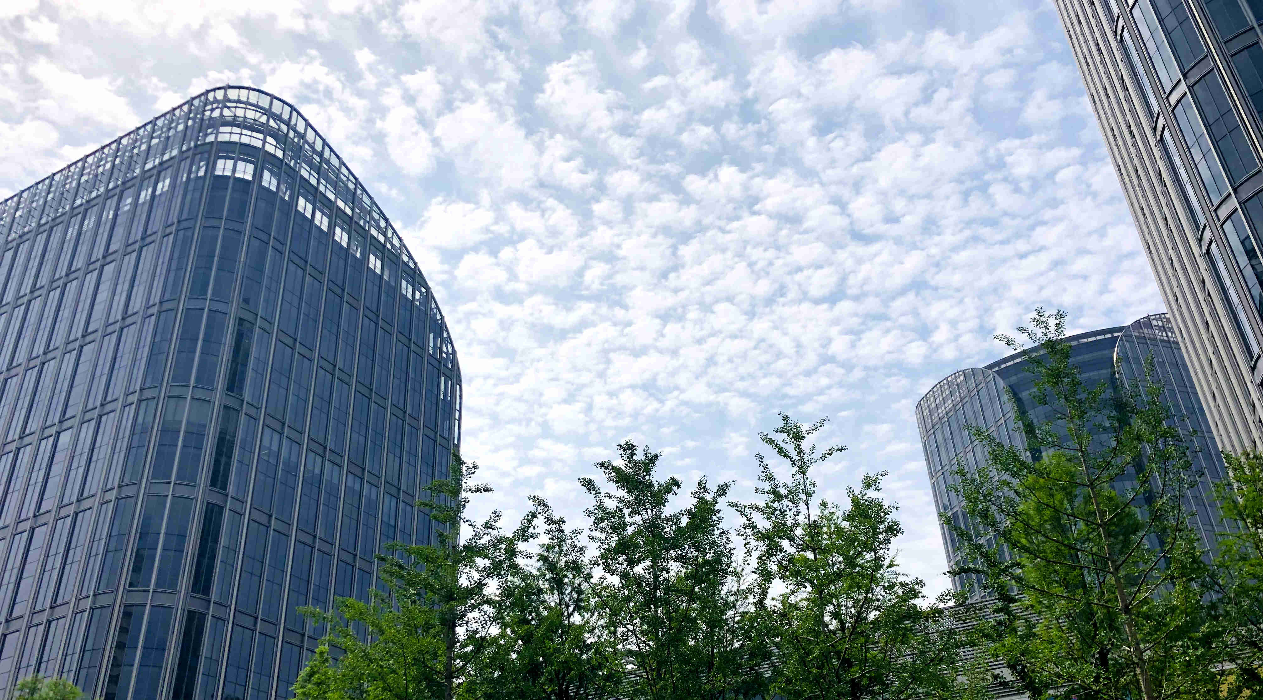 2021年5月份上海各区办公物业租赁市场热力指数TOP10