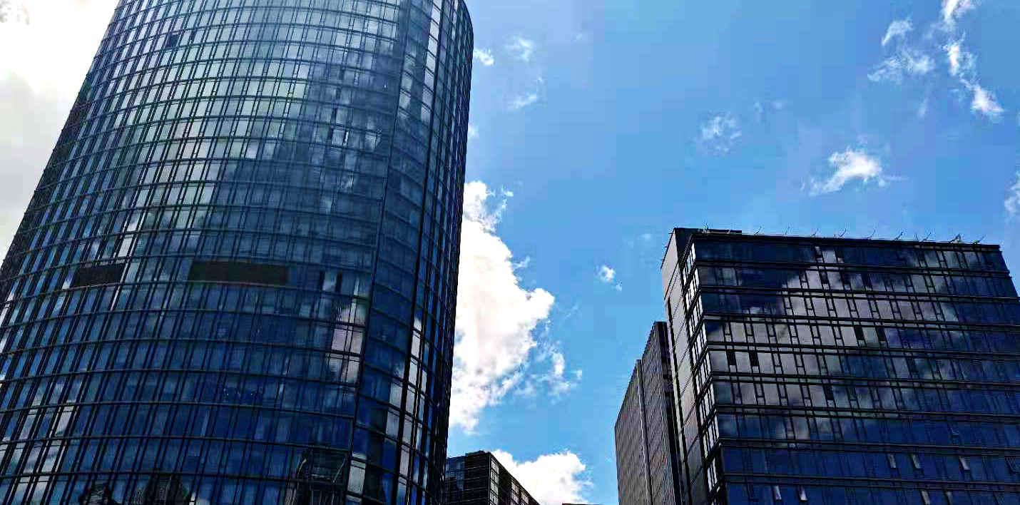 2021年7月份上海各区办公物业租赁市场热力指数TOP10