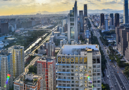 北京写字楼空置率下降至16.7%