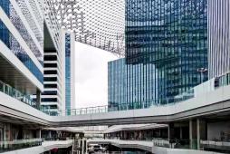 2021年9月份上海各区办公物业租赁市场热力指数TOP10