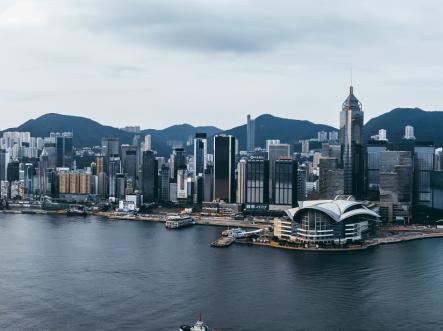 香港中环写字楼租金录得连续两个月升幅