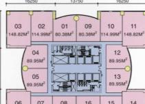 招商局大厦平面图