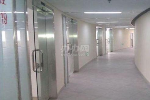 锦辉大厦公共走廊