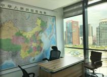 华贸中心外立面图