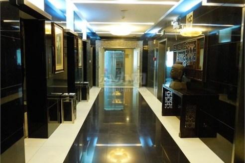 金天地国际大厦电梯厅