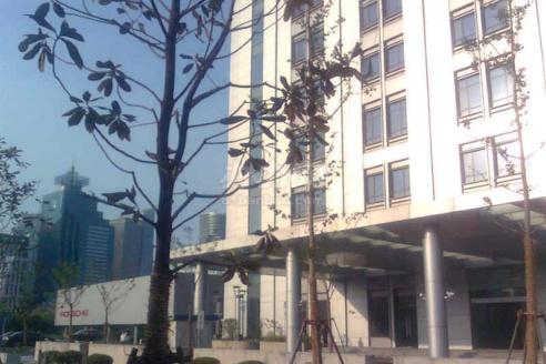 陆家嘴金融服务广场周边环境图
