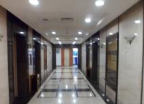 谷泰滨江大厦电梯厅